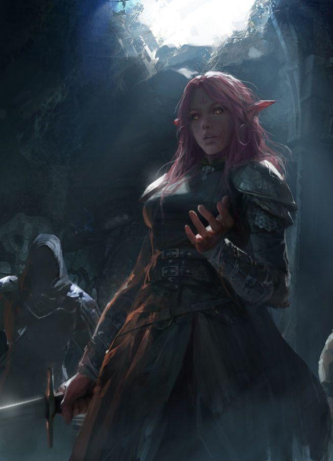 Elfen clipart female elf Elves Watch Lan 25+ by