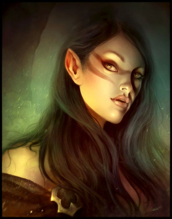 Elfen clipart female elf Ideas Tribe Pinterest Bow the
