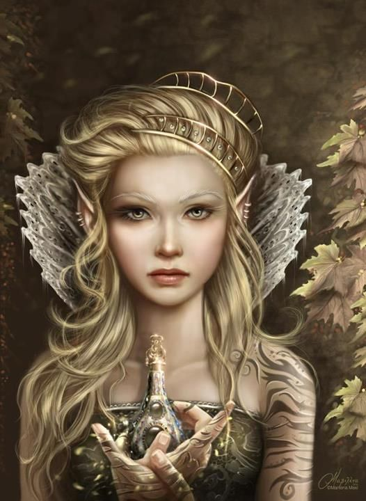 Elfen clipart female elf Special and Fae incantations? art