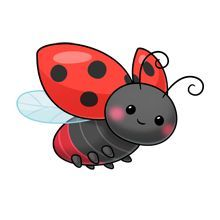 Elfen clipart flying Search ladybug on Google Pinterest