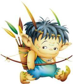 Elfen clipart happy Elfen trollen Page Pinterest K