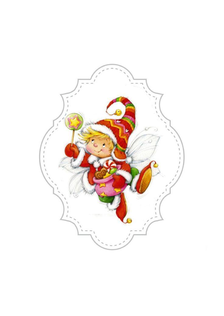 Elfen clipart happy holiday 345 Marina best Marina Elf