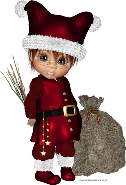 Elfen clipart holiday hat About Art dolls on images