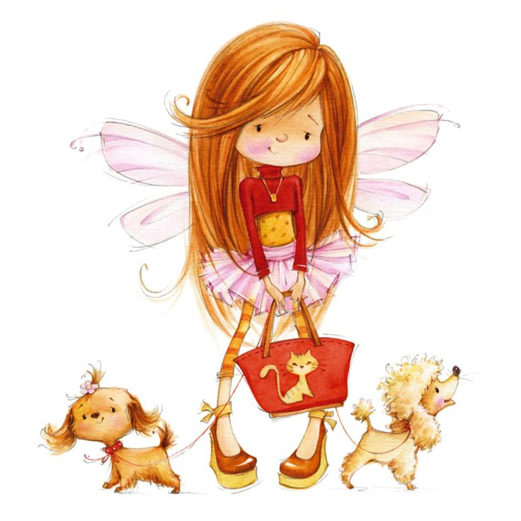 Elfen clipart little Find Pin on My Fairies