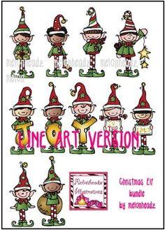 Elfen clipart melonheadz Is Pinterest as of ideas