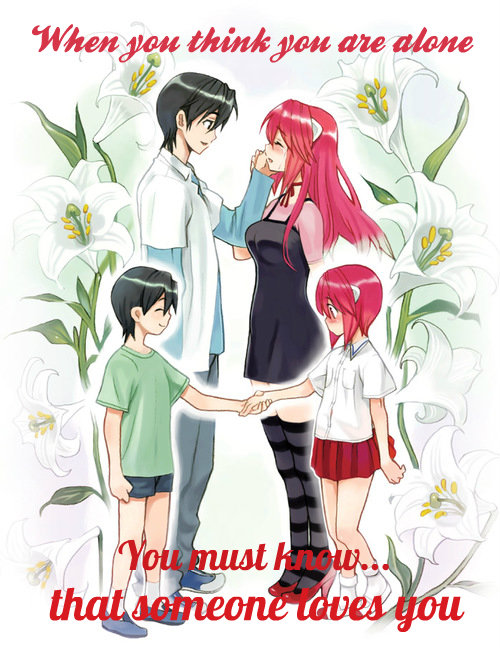 Elfen clipart person Heart anime on We Lied