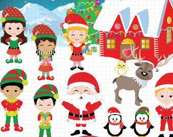 Elfen clipart santa's workshop Set best Santa's your Elf
