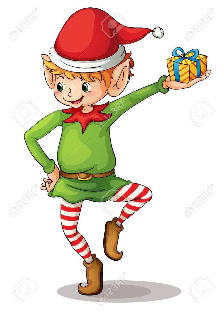 Elfen clipart santa's workshop Vectors Christmas Royalty A Cliparts