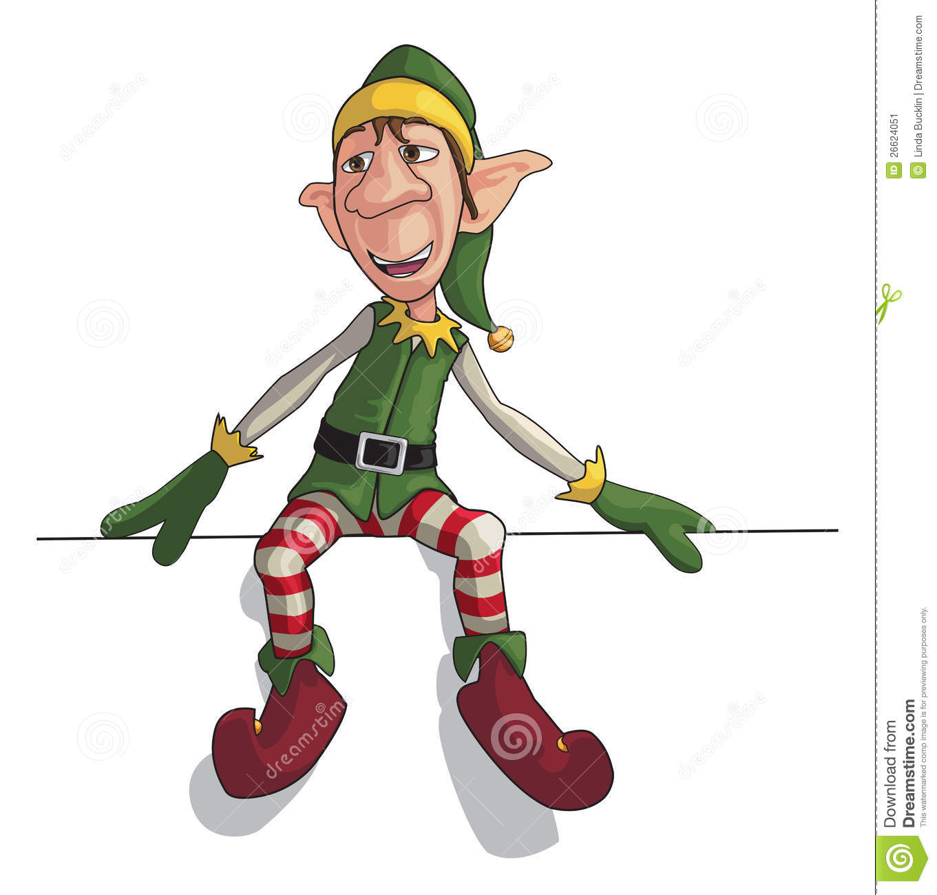 Elfen clipart skiing Elf 3403157 7 Royalty Free