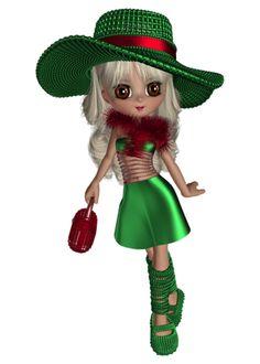 Elfen clipart skiing  Dolls ElfCookiesWitchesClip Cookie ·