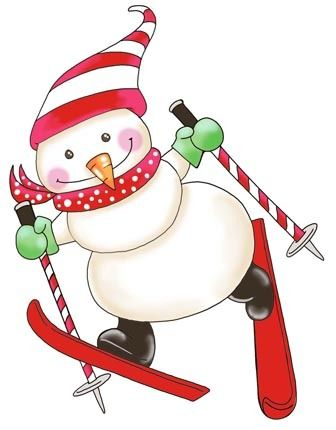 Elfen clipart skiing Pinterest on christmas/winter images about