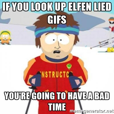 Elfen clipart skiing Lied look look you you