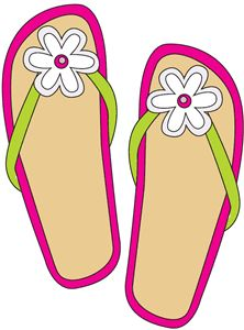 Sandal clipart for kid #5