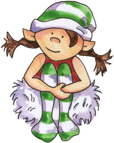 Elfen clipart snowball On SANTAS about Pinterest ELFERS