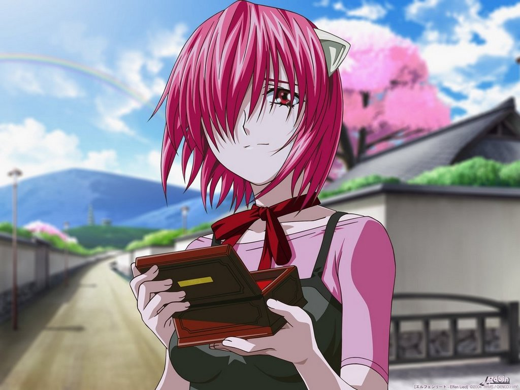 Elfen clipart the box Pin Pinterest Elfen Lied more