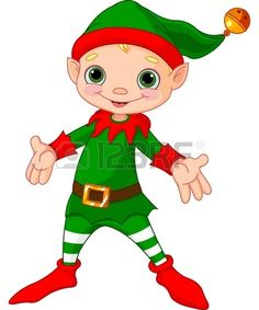 Rear clipart elf #5