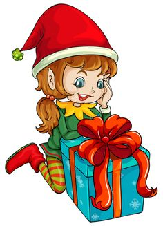 Elfen clipart two Duende de GIFS TUBES Navidad
