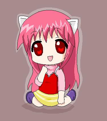 Elfen clipart two On @DeviantArt Anime chibi :3