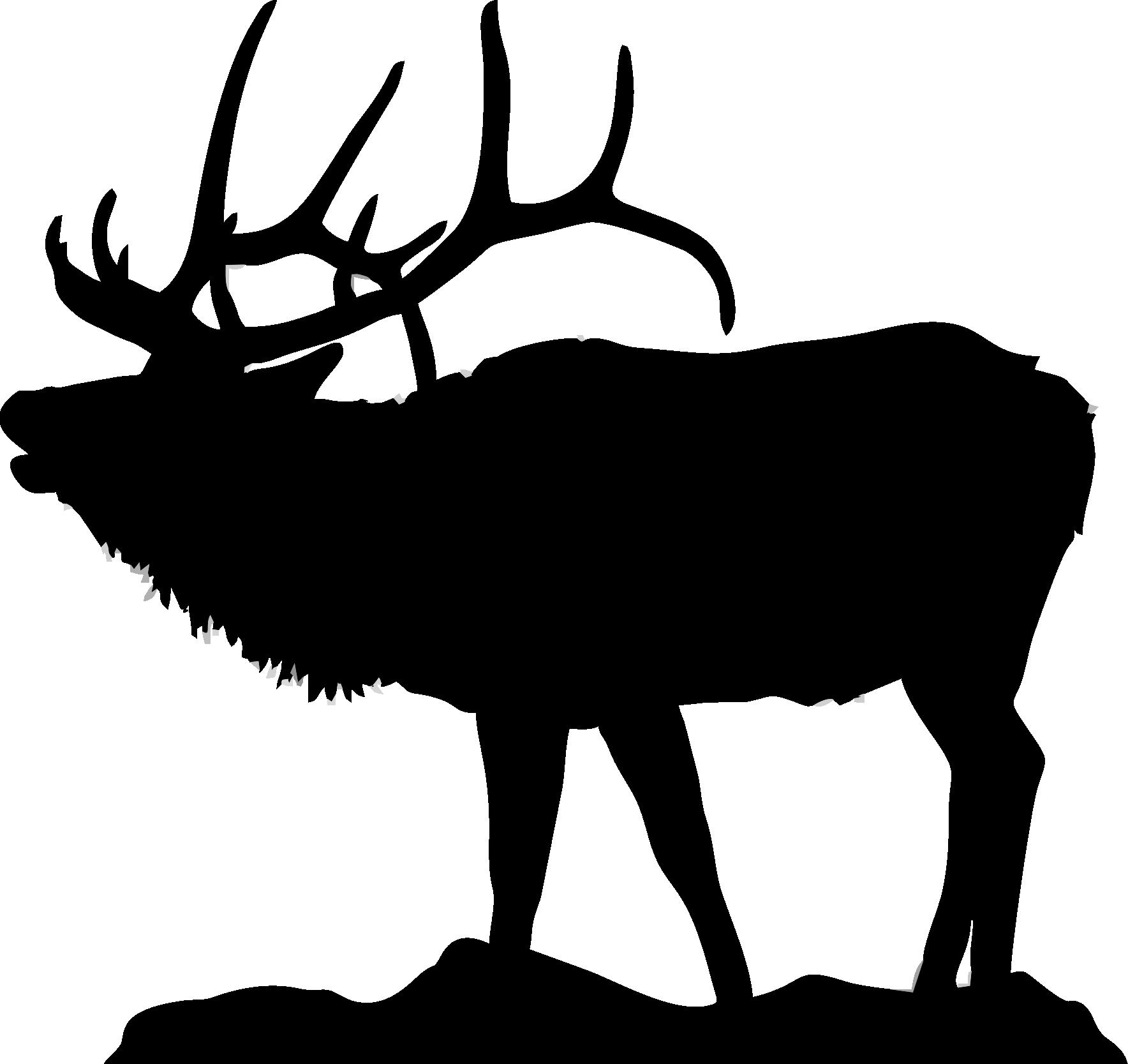 Mountain clipart bottom & you art Clipart Silhouette