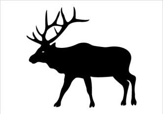 Elk clipart Clipart clip 2 Elk Vector