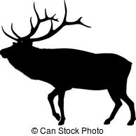 Elk clipart 3 and  Illustrations royalty
