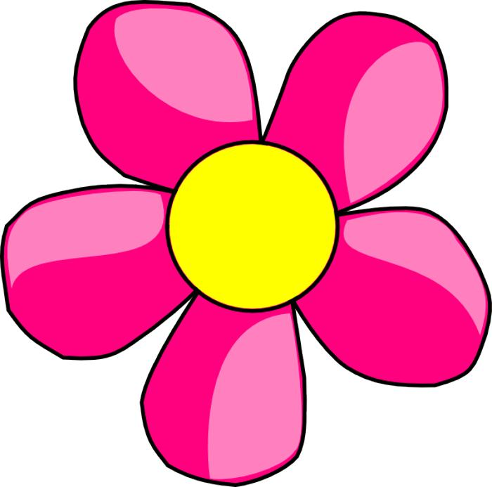 Blue Flower clipart pink flower Clipart flower Flowers graphics clipart