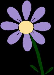 Flower clipart Flower Flower Flower Purple Clip