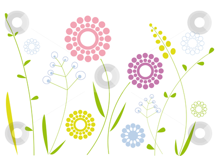 Simple clipart floral design #7