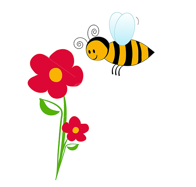 Gallery clipart bee flower Bumble with collection clip bumblebee