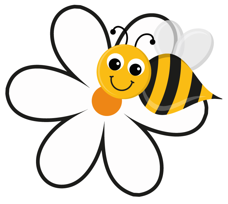 Gallery clipart bee flower Bee Art and  5148