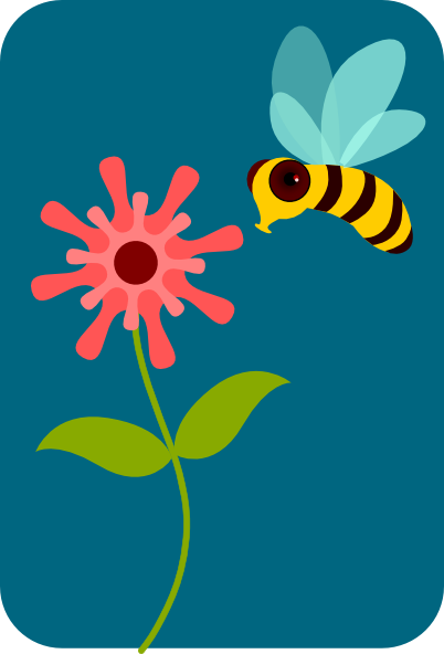 Gallery clipart bee flower Download  And at as: