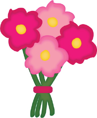 Pink Flower clipart little flower Clipart Birthday Clip Download Free