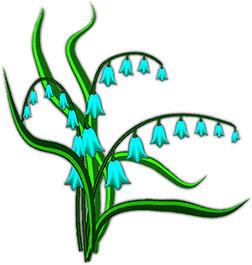 Blue Flower clipart blue bell Blue flowers Flower blue White