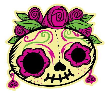 Day Of The Dead clipart pan de muerto  Latino Al Muertos Muertos