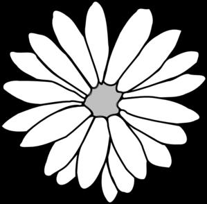 Red Flower clipart outline Clip Outline Flower Clipart Art