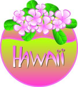 Tropics clipart lei flower #15