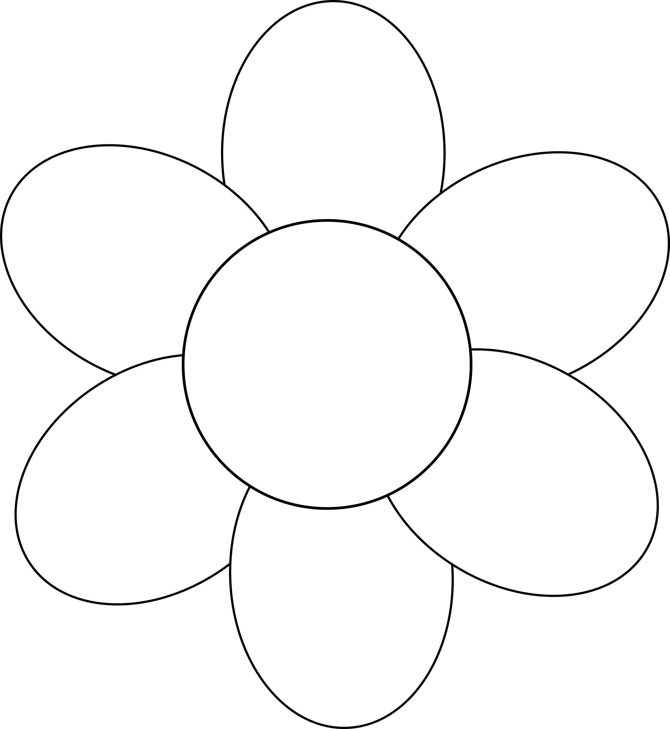 Petal clipart big flower IMAGE Clipart (PNG) petals Flower