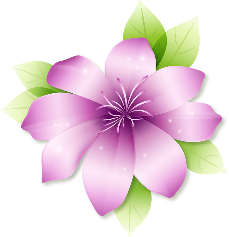 Pink Flower clipart large flower  Flower View available ·