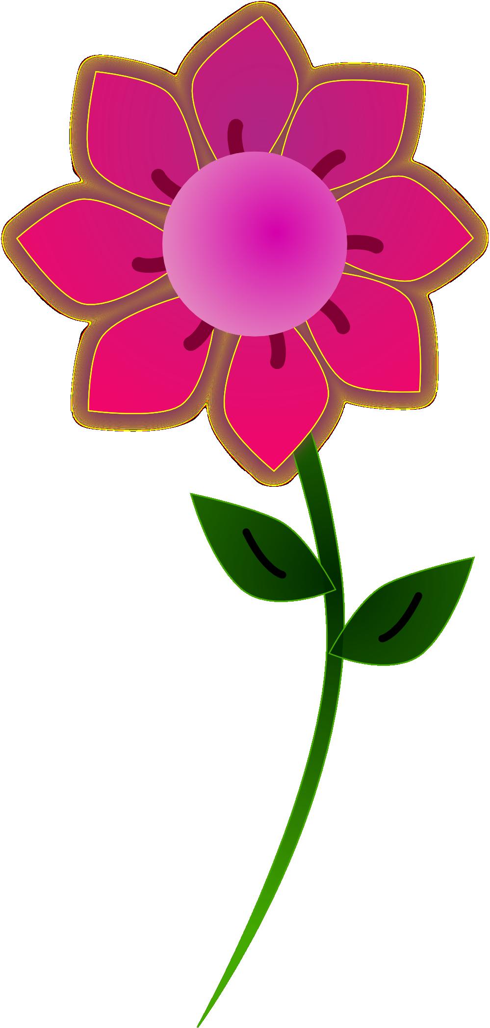 Elower clipart pink flower For Flower Flower Free Art