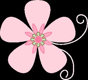 Elower clipart pink flower Pink Clip borders Flower Art