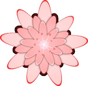 Elower clipart pink flower Light Flower Panda Clipart Clipart
