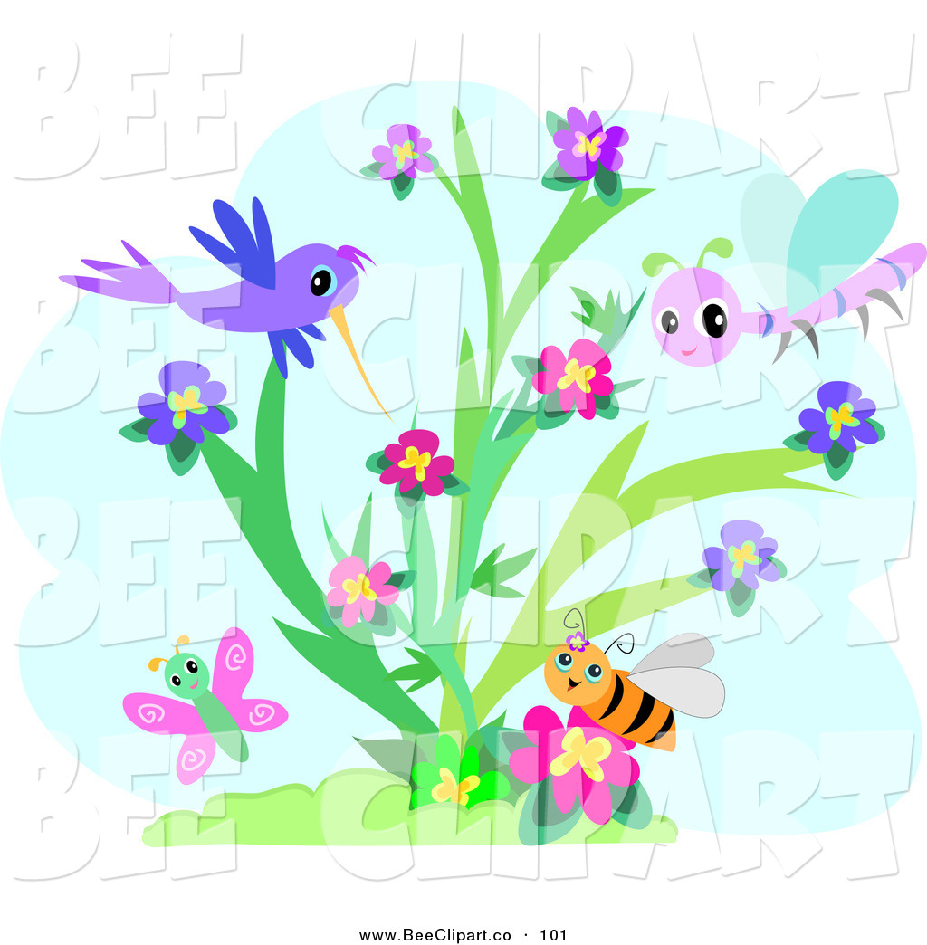 Bird clipart butterfly  Purple and butterfly clipart