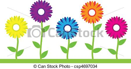 Artwork clipart colorful And art Illustrations Flowers Flowers