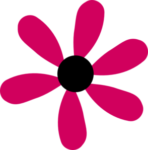 Petal clipart single Clip Art Pink at Pink