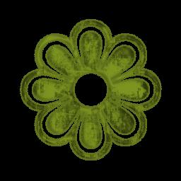 Petal clipart single Panda green%20snowflake%20clipart Free Green Images