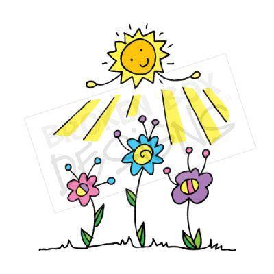 Warmth clipart sunny Flowers Flowers Sunny Clipart Sunny