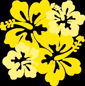 Yellow Flower clipart hibiscus flower Clip Clip  Art Yellow