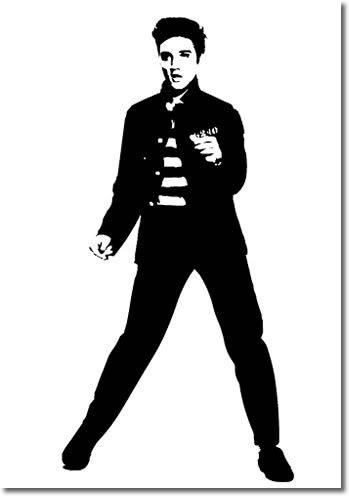 Elvis Presley clipart Art  Free Dancers Clipart