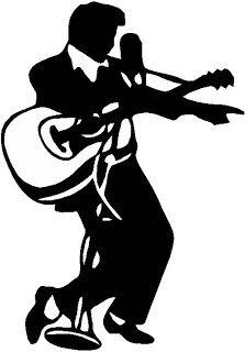 Elvis Presley clipart Elvis Jailhouse Rock Silhouette #2: Pixel Presley Bryant: Elvis