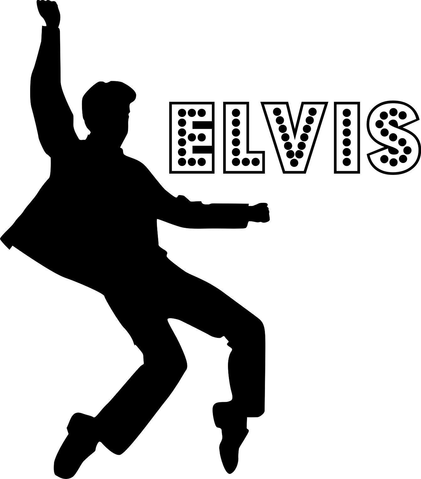 Elvis Presley clipart Elvis Jailhouse Rock Silhouette Presley white and presley Swiss